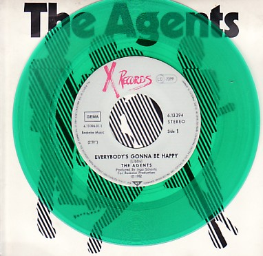 Agents Everybody's Gonna Be Happy 7""