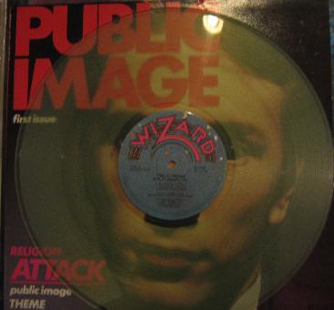 PIL First Issue Australian clear vinyl
