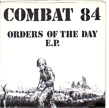 display image of COMBAT 84 - Orders Of The Day EP