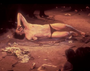 Lux Interior of The Cramps