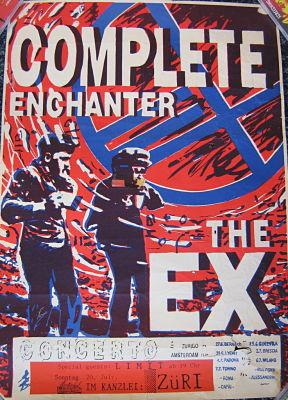 EX, 1987 Tour Poster
