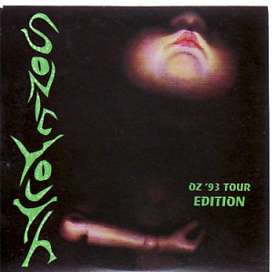 SONIC YOUTH, Oz '93 Tour Edition