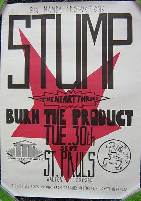 Stump Gig poster