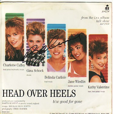 GO-GO'S, Head Over Heels