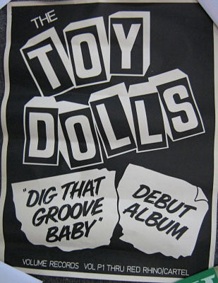 Toy Dolls Dig That Groove Baby poster