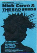 Newcastle 17/4/85 Gig Ticket (featuring) nick-cave-amp-the-bad-seeds [thumbnail]