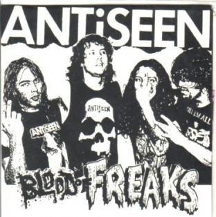 Antiseen 'Blood Of Freaks' 7""