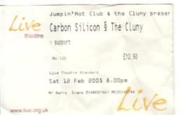 Newcastle 12/2/05 Gig Ticket