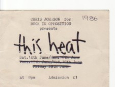 this heat gig ticket