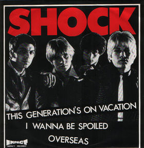 The Shock 'This Generation's On Vacation' 7""