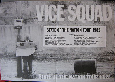 State Of The Nation Tour Promo Poster