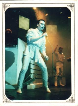 GARY NUMAN, Photograph Taken 4/12/84