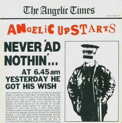 display image of ANGELIC UPSTARTS - Never 'Ad Nothin'