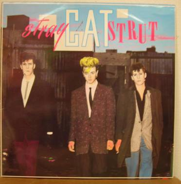 display image of STRAY CATS - Stray Cat Strut