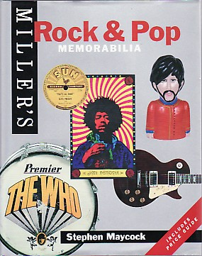 Rock & Pop Memorabilia Book