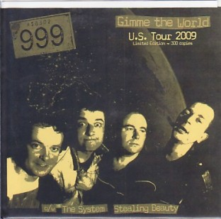 999 'Gimme The World' USA tour edition 7""