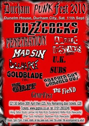 Durham Punk Festival 2010