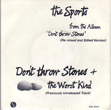 Don't Throw Stones
