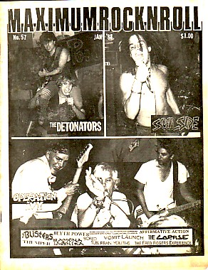 Maximum Rock n Roll Mag No. 57