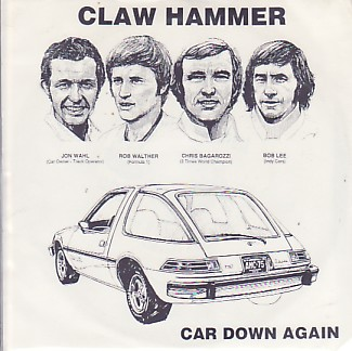 display image of CLAW HAMMER / RED AUNTS - Car Down Again
