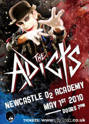 Adicts Newcastle 1st May