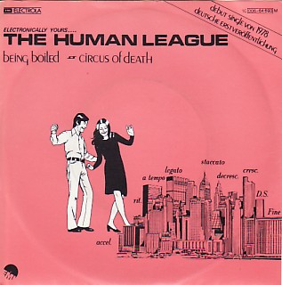 display image of HUMAN LEAGUE - Being Boiled
