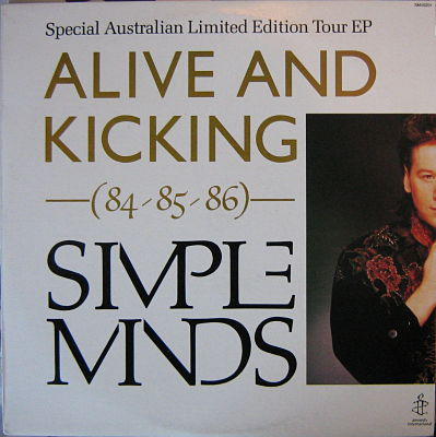 SIMPLE MINDS, Alive And Kicking Australian Tour EP