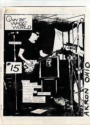 display image of VARIOUS - Own The Whole World No. 15 Fanzine
