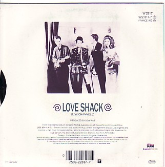 display image of B52S - Love Shack