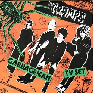Cramps Garbageman French 7""