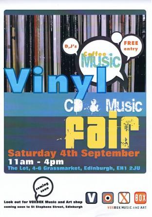 Edinburgh Record Fair