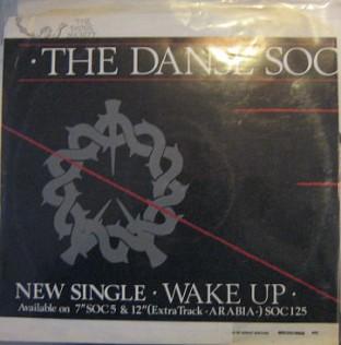 "Danse Society Wake Up 12"" promo"