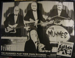 Mummies 'Play Their Own Records' Poster