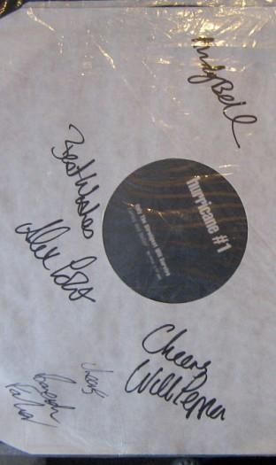 Hurricane #1 fully signed promo
