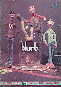 Blur 'Blurb' magazine