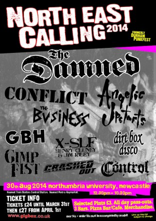 North East Calling Punk Festival 2014