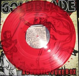 Goldblade Acoustic Jukebox red vinyl
