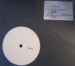 Zounds The Curse Of Zounds test pressing