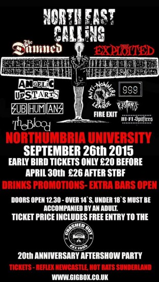North East Calling 2015