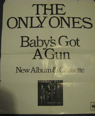 Only Ones Baby's Got A Gun Poster