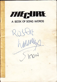 the-cure-a-book-of-song-words
