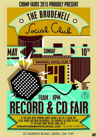 Leeds Record Fair Sunday 10th May
