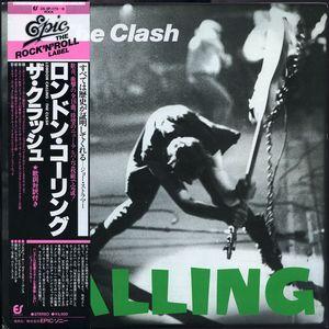 Clash London Calling Japanese LP