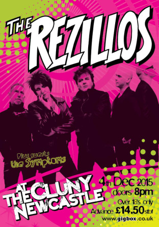 Rezillos Newcastle Cluny 4th Dec