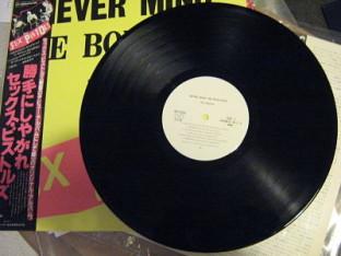 Sex Pistols Never Mind The Bollocks Japanese Promo Lp