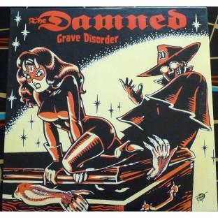Damned Grave Disorder red vinyl