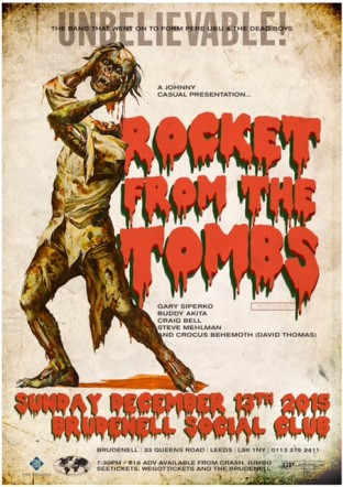 Rocket From The Tombs Leeds Brudenell