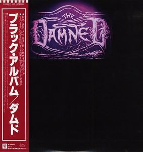 Damned The Black Album Japanese original