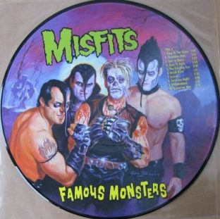 Misfits - Famous Monsters picture disc