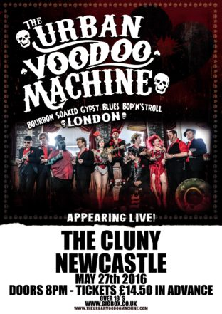 The Urban Voodoo Machine - The Cluny